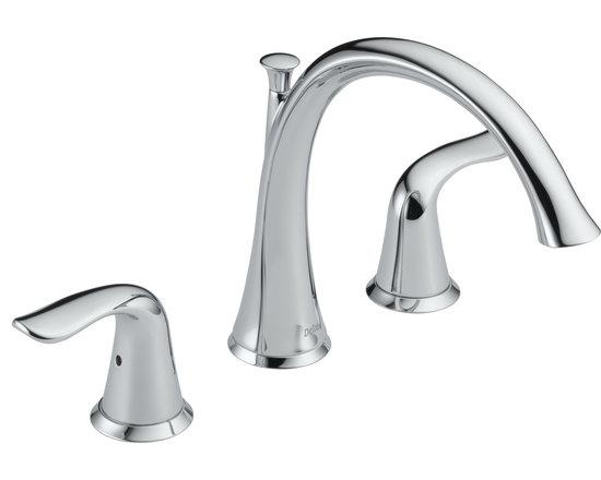 Delta Lahara® Roman Tub Trim - Delta Lahara® Roman Tub Trim, Chrome Finish, T2738