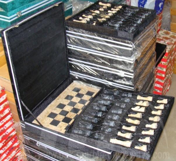 Chess Sets modern-housekeeping