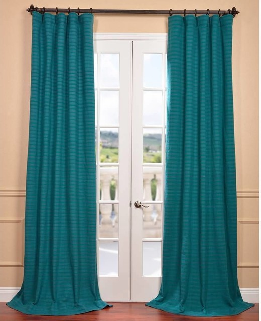 Teal Window Curtains Shop Solaris 108 In L Teal Canvas Solid Outdoor Window Curtain Panel At