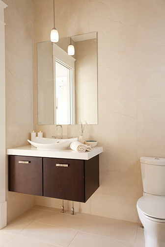 Modena Wall Mount Suite from The Elegant Bath Collection contemporary-bathroom-vanities-and-sink-consoles