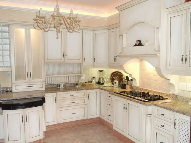Shabby chic cabinetry - Kitchen Cabinetry - other metro - by Nico's Kitchens