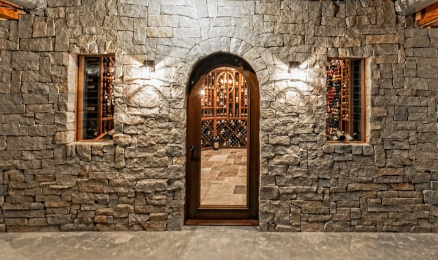 Darrien CT 4000+ bottle wine cellar traditional-wine-cellar
