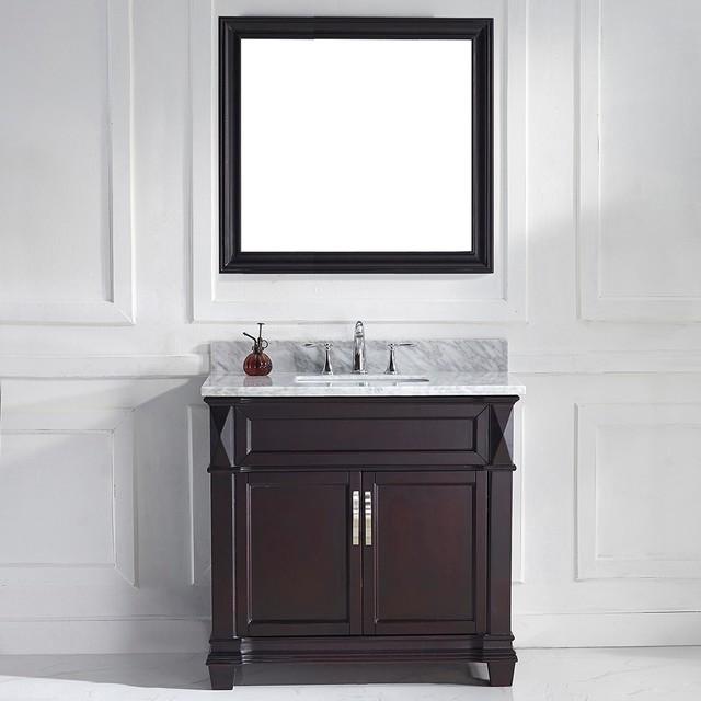 Julien Single Vanity Set White