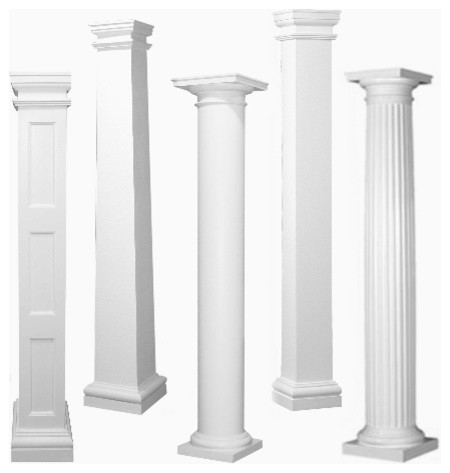 Porch Columns traditional