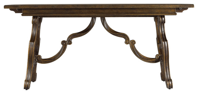Rustica Dining Room Harvest Table Traditional Dining