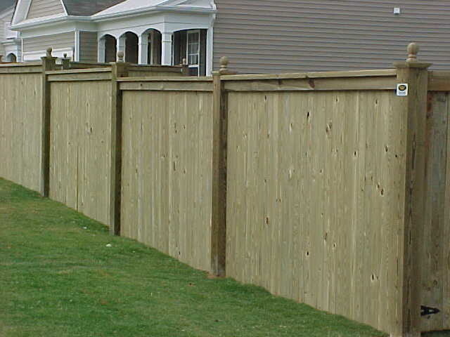Wood Privacy Fences Home Fencing And Gates Chicago