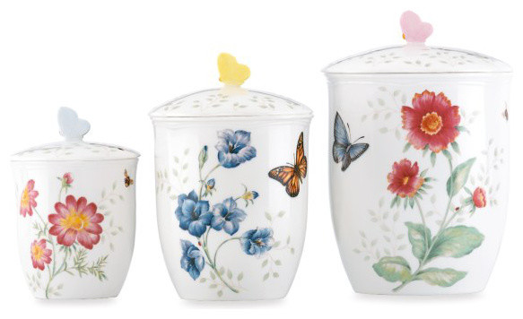 Lenox Butterfly Meadow Canisters contemporary-food-containers-and-storage