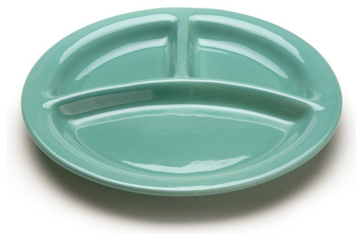 Contemporary Dinner Plates by Bauer Pottery Company