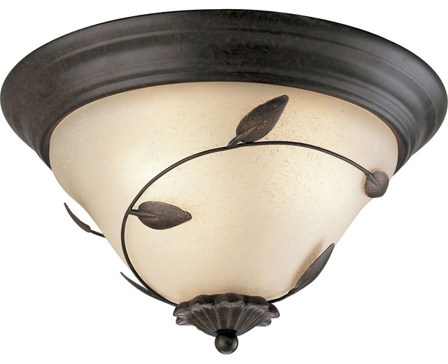 Progress Lighting Eden Traditional Flush Mount Ceiling