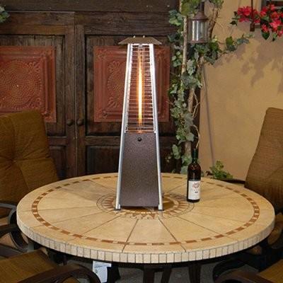 AZ Patio Heater Portable Glass Tube Patio Heater - Bronze modern-air-conditioners