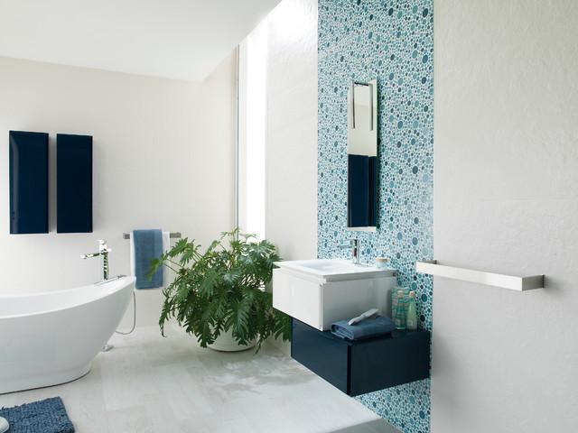 Firenze Oceano Oxford Blanco Bathroom Other Metro