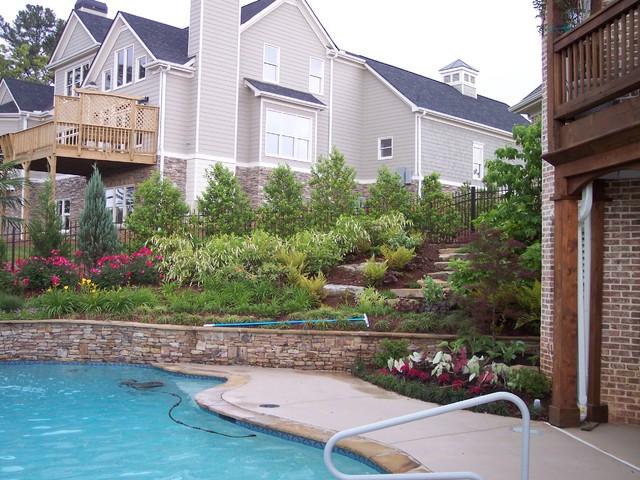 Wolfangle Residence traditional-pool