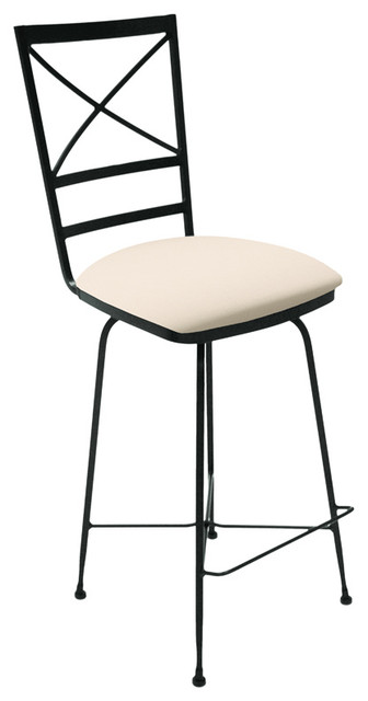 Charleston Forge Xanadu Swivel Counterstool contemporary-bar-stools-and-counter-stools