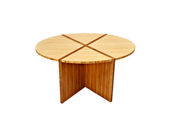 Bamboogems Custom Furniture- Oval Coffee Table - Photos Wing Wong