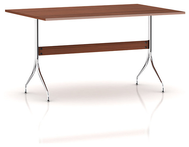 Nelson Swag Leg Work Table modern-desks-and-hutches