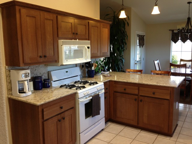 Shawn T traditional-kitchen-cabinets