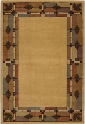 """Area Rug: Morrison Natural 10' 9"""" x 7' 10"""" contemporary-rugs"""