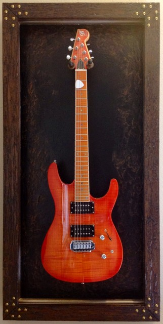 Guitar Display Cases / Shadow Boxes - Rustic - Wall Decor - other metro - by JeLi's Decor