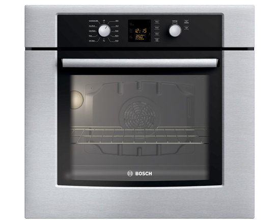 "Bosch 30"" 300 Series Single Wall Oven With Convection, Stainless 