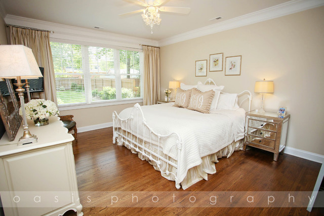 Bay 1940 39 s bungalow traditional bedroom charlotte for 1940s bedroom ideas