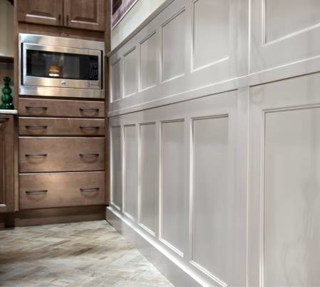 Winslow Maple Wainscoting  Wainscoting Kitchen