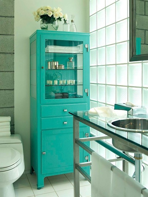 Bathroom Cabinets Storage Home Decor Ideas - modern - bathroom