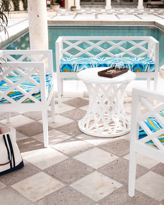 Crisscross Chair traditional-outdoor-lounge-chairs