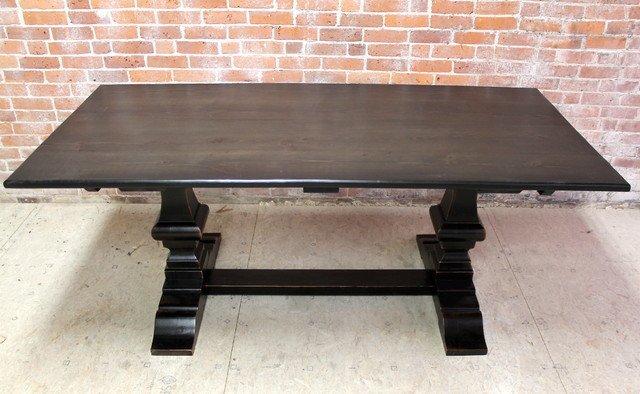Black Wash Venetian Farm Table