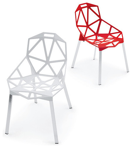 Magis Chair One Stacking Chair, Set of 2 living-room-chairs
