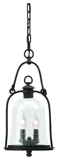 Troy Lighting F9466 Owings Mill 2 Light Outdoor Hanging Lantern traditional-outdoor-lighting