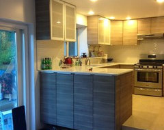 Get the Look of Wood Cabinets for Less