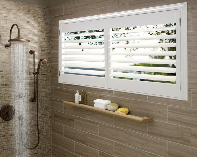 Plantation Shutters Transitional Bathroom Dallas By Ross Howard Designs