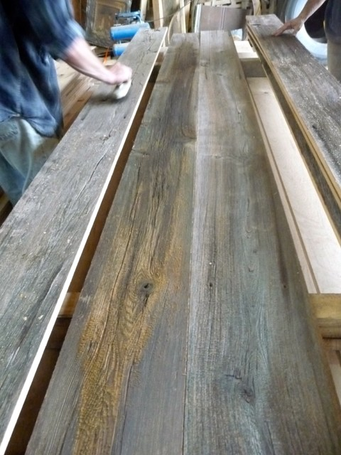 Reclaimed Barn Wood: Red, Gray & Brown - Rustic - nashville - by ...