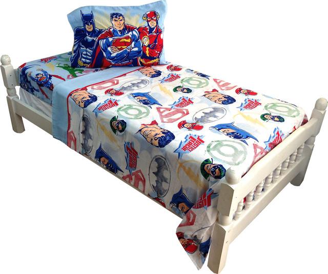 DC ics Justice League Twin Bed Sheet Set Frozen Justice