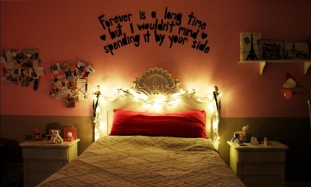 Christmas Lights Bedroom 1