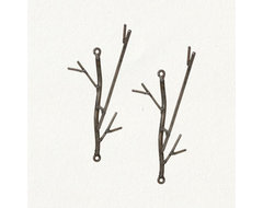 Iron Twig Hooks eclectic-towel-bars-and-hooks