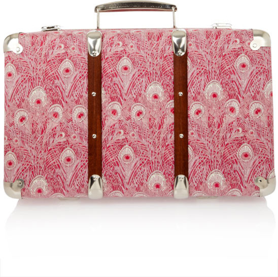 Hera Liberty Print Miniature Suitcase modern accessories and decor