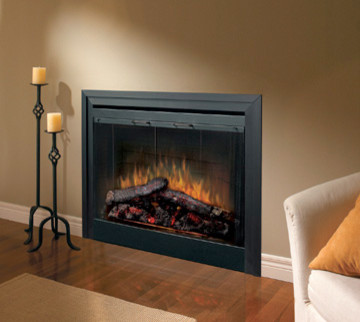 Dimplex 39-Inch Standard Built-in Electric Fireplace - BF39STP traditional-fireplaces