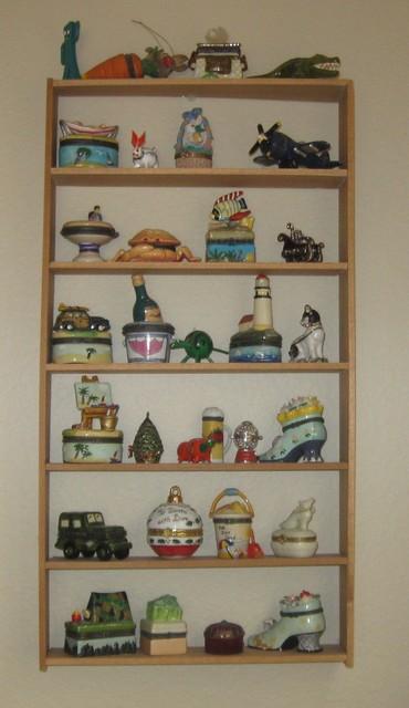 DIY Knick Knack Cabinet - Contemporary - san diego