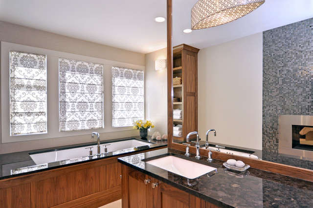 Johnson & Associates Interior Design - contemporary - bathroom