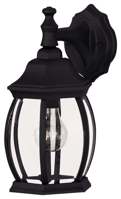 Savoy House 07069-BLK Exterior Collections Wall Mount Lantern in