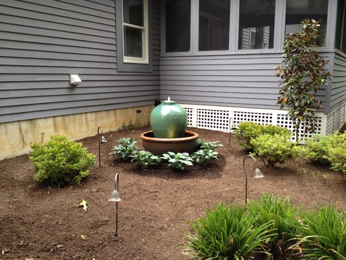 Landscaping planting ideas needed for this corner space for Garden design zone 7