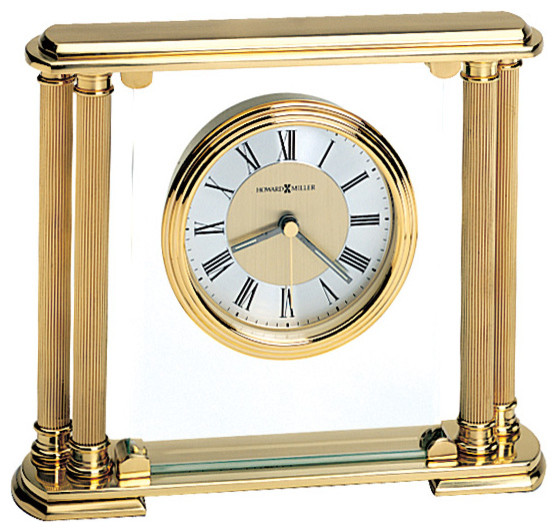 Howard Miller Athens Table Top Clock Contemporary