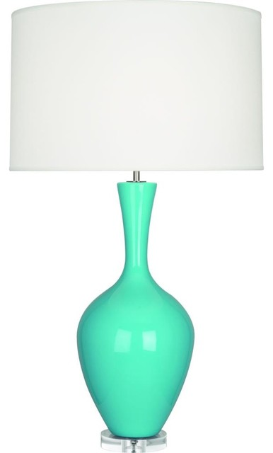 Robert Abbey-EB980-Audrey - One Light Table Lamp transitional-table-lamps