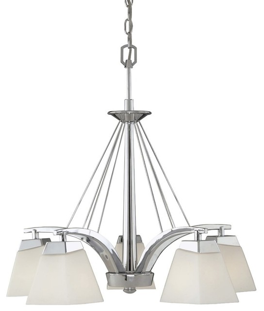 Vaxcel Lighting KD-CHD005CH Kendall Transitional 5-Light Chandelier contemporary-chandeliers