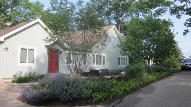 Compact Front Yard traditional-landscape