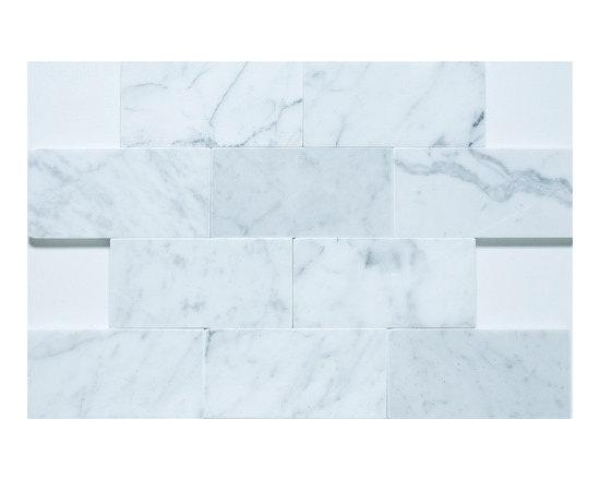 "3""x6"" Bianco Carrara - Polished -"