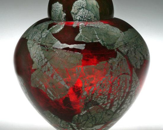 Solinglass in Brattleboro Vermont - Gold Ruby Emperor Bowl -