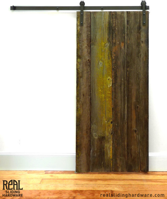 Rustic Barn Door - Rustic - other metro - by Real Sliding Hardware