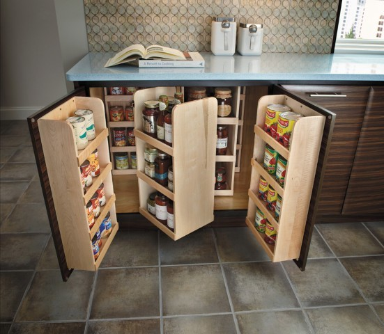 Getting Organized With Fieldstone Cabinetry Kitchen Cabinetry Other Metro By Absolute